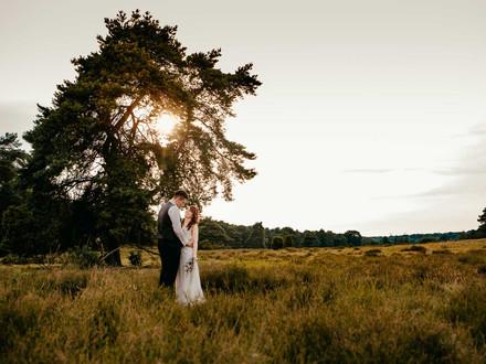 Afterwedding Shooting auf Zollverein und in der Westruper Heide