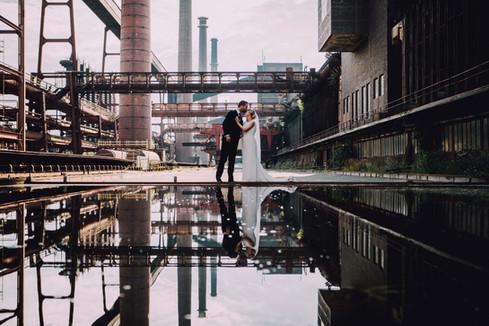 Hochzeitsfotograf Zeche Zollverein
