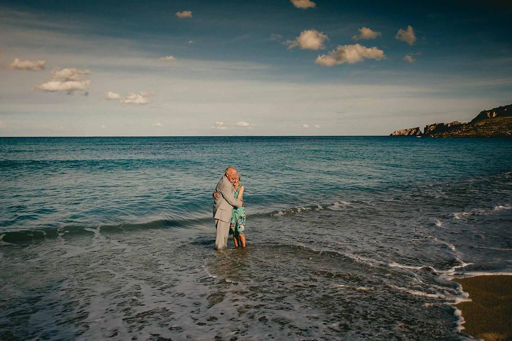Paarshooting Mallorca Meer