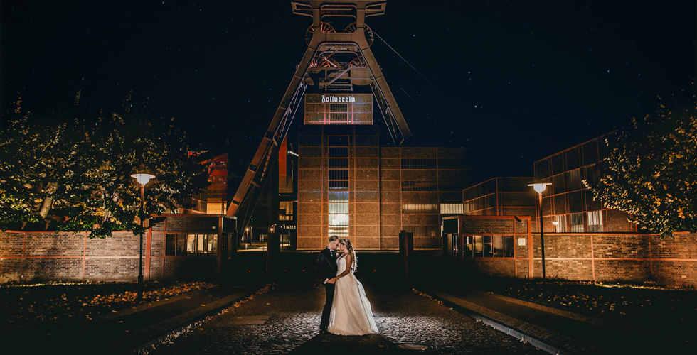 Hochzeit Zeche Zollverein
