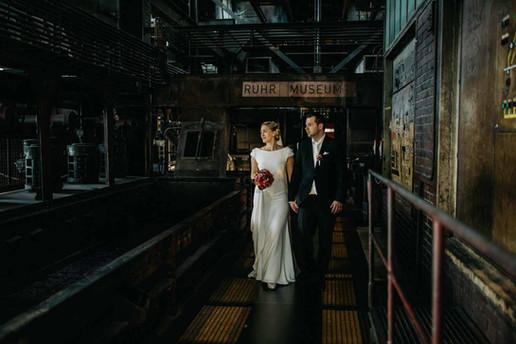Hochzeitsfotografen Zeche Zollverein