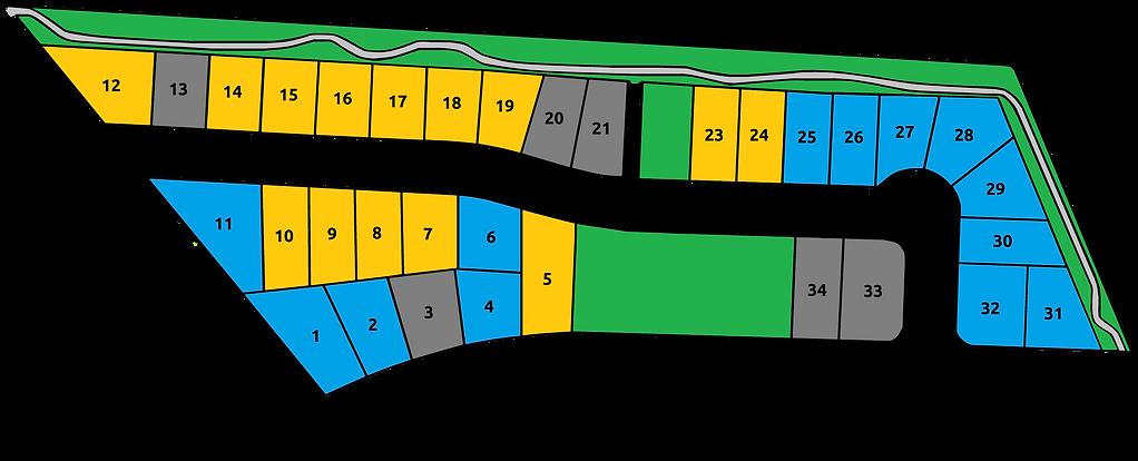 Northridge Estates Courtenay BC Map.