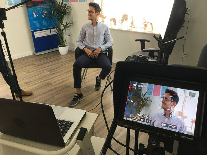 Interview Filming