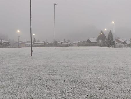 Niederlage im Dussnanger Schneegestöber