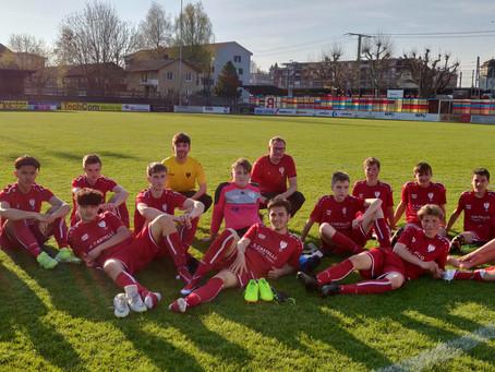 Die Pfyner Juniorinnen und Junioren starten erfolgreich in die Meisterschaft