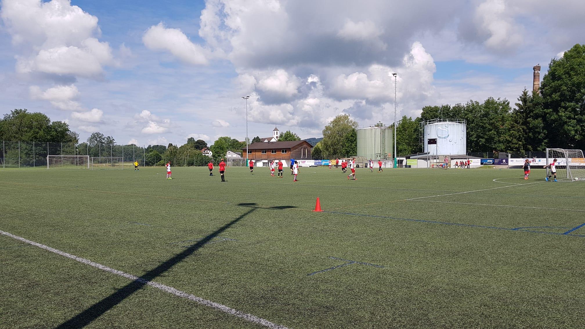 Der FC Pfyn war seinem Gegner unterlegen: Berg entschied die Partie mit 9:1 für sich.
