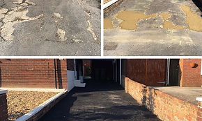 Pot hole and Drive Refurb