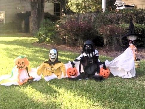 Ghost Family DIY