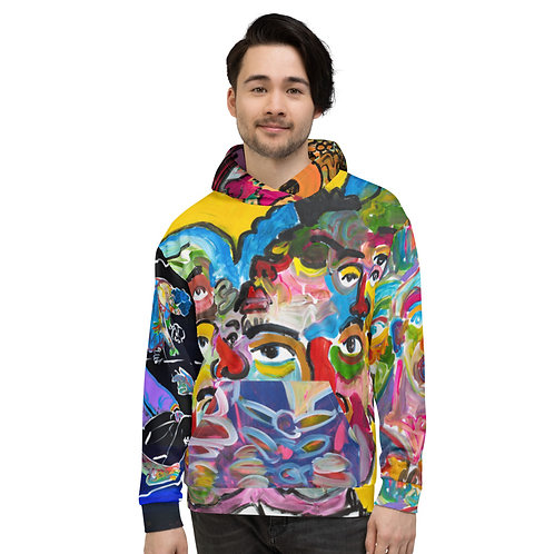 The walking gallery ULTIMATE hoodie