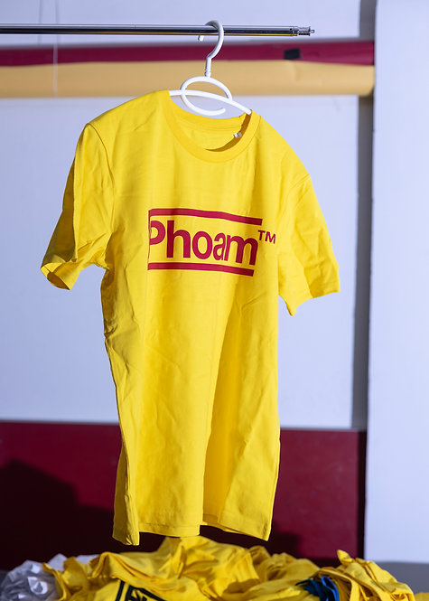 Phoam Shirt Yellow/Red