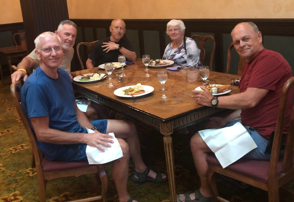 Added Purpose - the joy of dining with Virginia