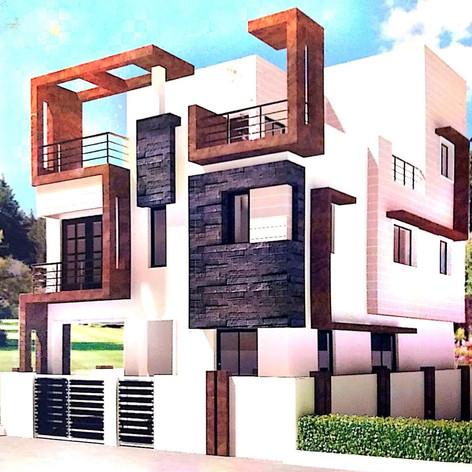 Individual villa @ Shakthi nagar
