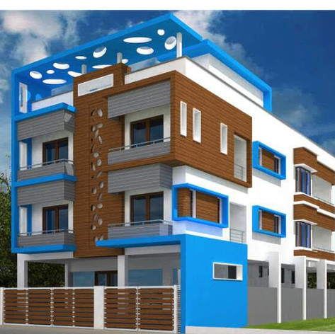 Commercial &recidential bulding @ 70' ROAD