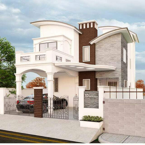 Individual villa @ Nanmanagalam