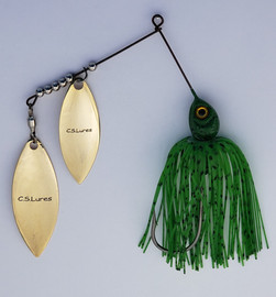 CSL804-Spinnerbait-1-2-oz-Willow-Green-B