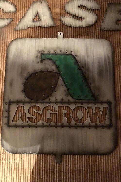ASGROW sign DXF