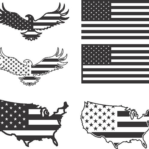 Flag Pack (FREE use code USA at checkout)