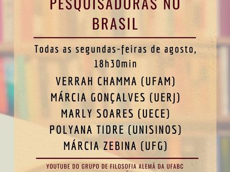 Conversas Hegelianas: Pesquisadoras no Brasil