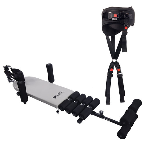 Stretch Bench with Cervical Traction & Inversion Belt