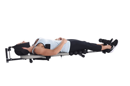 Back Stretch Bench with Cervical Traction