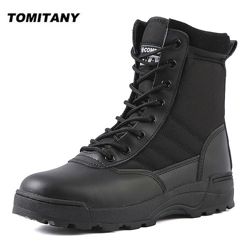 Tactical Military Safety Men Boots Special Force Desert Combat Army