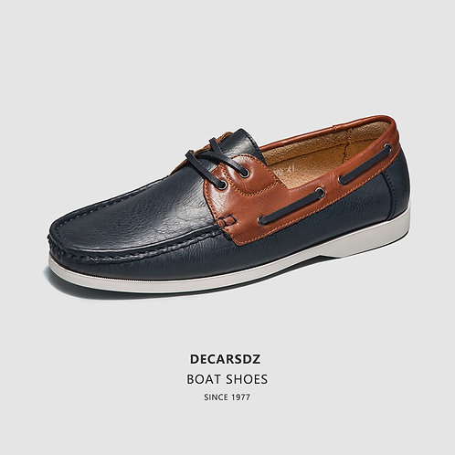 Leather Soft Fashion Boat Shoes Casual Moccasins Classic Loafers