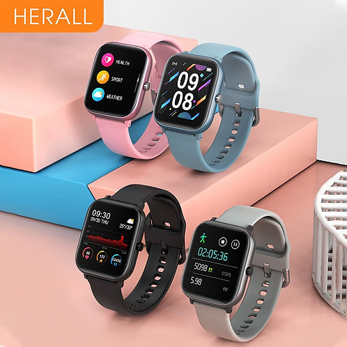 Men's Smart Watch Fitness Bracelet With Bluetooth
