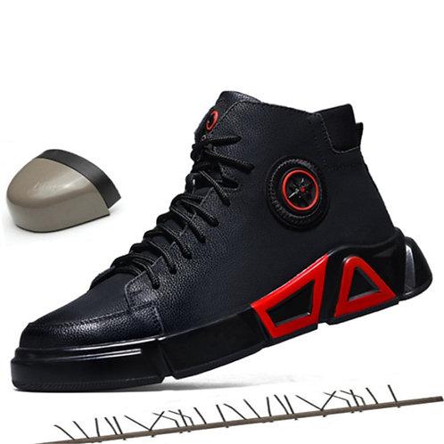 Luxury Designer High Waterproof Steel Toe Cap Work Safety Shoes