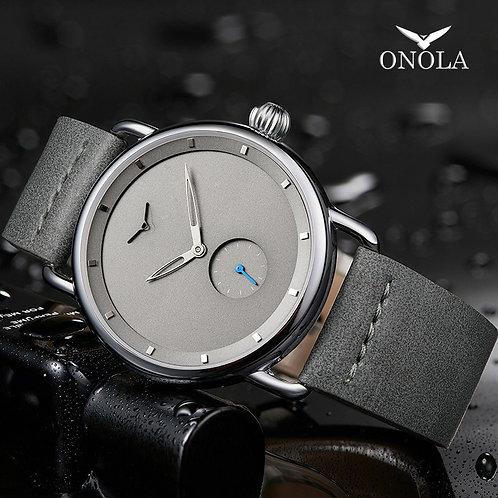 Quartz Wristwatch Simple Water poor Leather Man Watch Luxury Watches