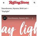Rolling Stone India - Britt Lari