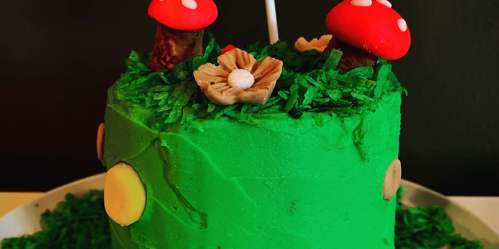June 17 - Design, Bake + Decorate Your own Cake Half Day Camp