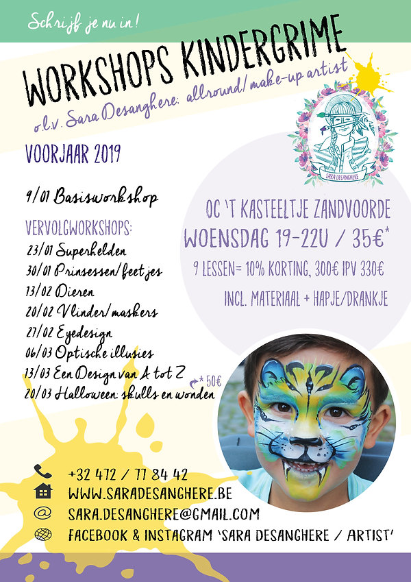 2019 Sara Desanghere workshopreeks kinde