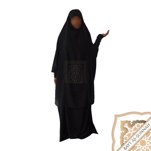Jilbeb Noir (Manches Lycra)