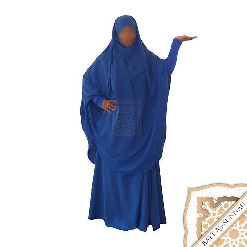 Jilbeb Bleu Roi (Manches Lycra)
