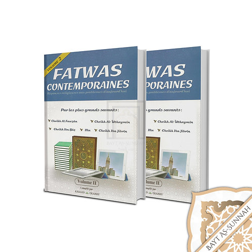 FATWAS CONTEMPORAINES (2 VOLUMES)
