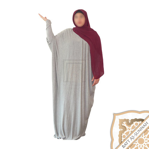Abaya Simply Gris Claire