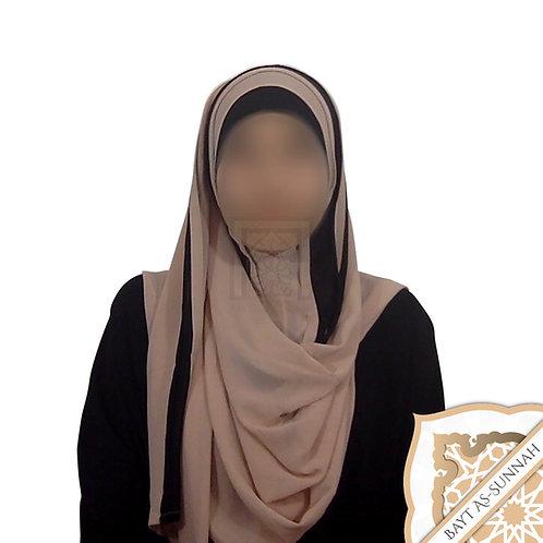 Hijab Bicolore