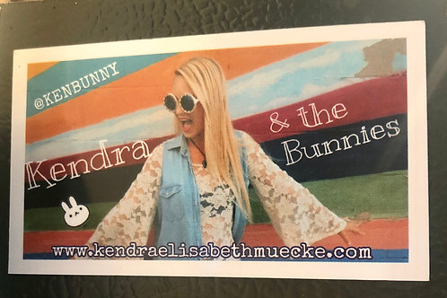 Kendra & the Bunnies Magnet