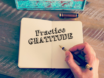 Create a Gratitude Journal