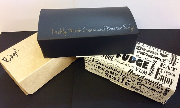 Sinful Fudge Combination Box of 4 Blocks - Add a note at checkout of your 4