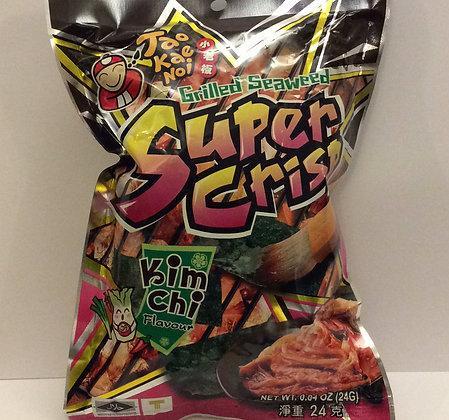 Super Crisp Grilled Seaweed - Kimchi Flavour 24g