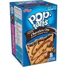 Pop Tarts box - Chocolate chip