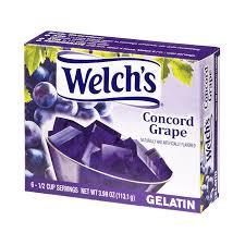 Welch's Concord Grape Gelatin 113.1g