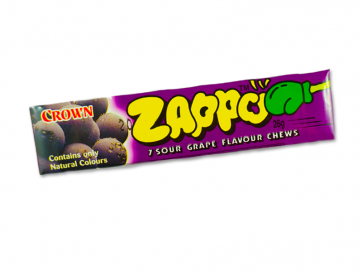 Zapp Sour Grape Chews 26g