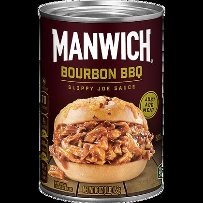 Manwich Bourbon BBQ Sloppy Joe Sauce 453g
