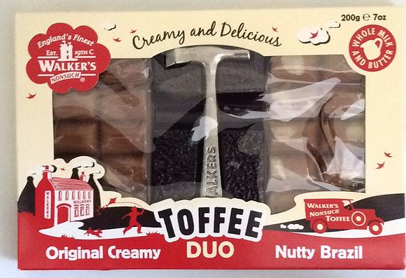 Toffee Duo Original Creamy Nutty Brazil 200g
