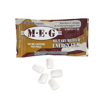 M.E.G Military Energy Gum Cinnamon 12.5g