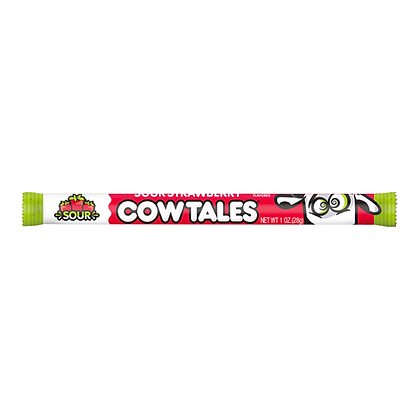 Cow Tales Sour Strawberry 28g