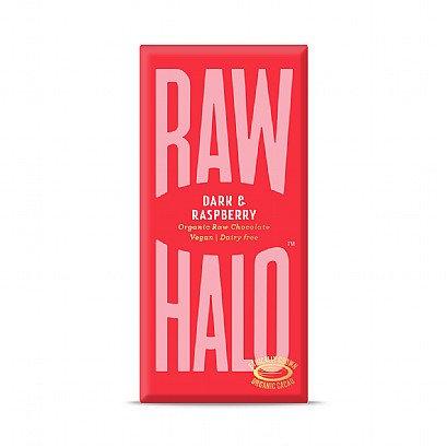 Raw Halo Dark & Raspberry Chocolate (Vegan) 70g