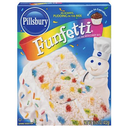Funfetti Cake Mix 432g